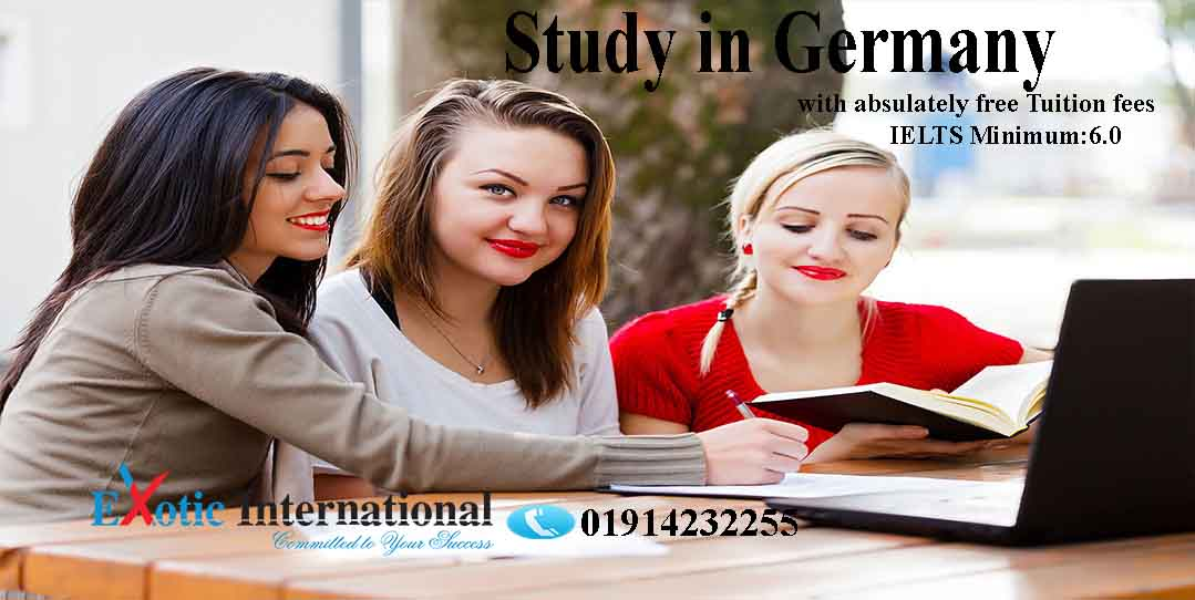 Study in Germnay